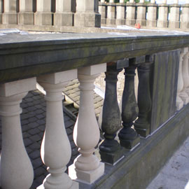 Royal Terrace & Grosvenor Crescent Baluster Replacement